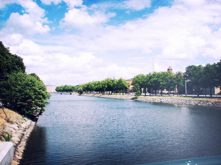 malmo, river