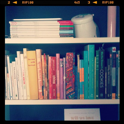 Meine Kochbuchreihe / My cook books #fffreitag #FrageFotoFreitag