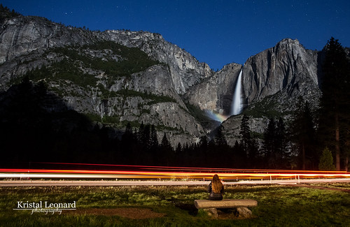 Yosemite Fall Moonbow and me!