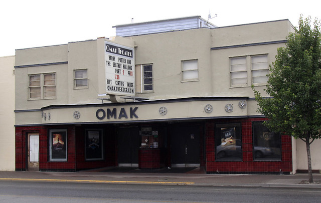 Omak (WA) United States  City pictures : Omak Theatre, Omak, WA 2011 a photo on Flickriver