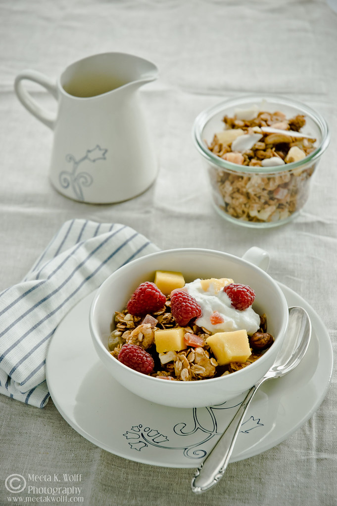 Tropical Fruit and Nut Granola (0365) by Meeta K. Wolff