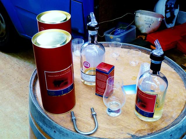 Whisky Tasting, Abhainn Dearg Distillery