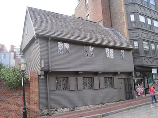 Image of Paul Revere House. boston massachusetts paulrevere nationalhistoricalpark 1680s johnjeffs