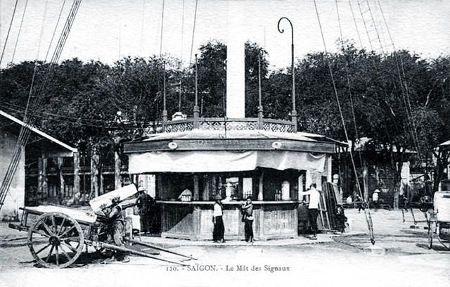 SAIGON - Les Mât des Signaux 1900's