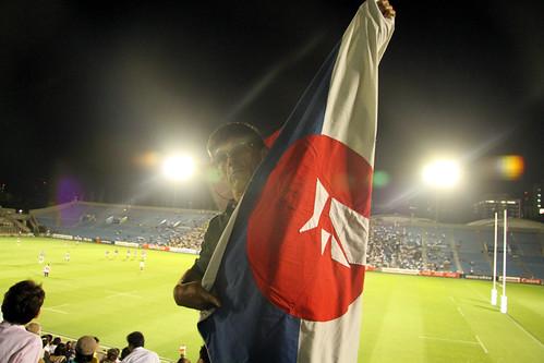 RUGBY-Japon vs Francia BB- LA bandera