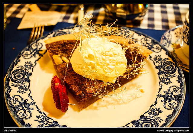 Maple Syrup Pie from Aux Anciens Canadiens | Flickr - Photo Sharing!