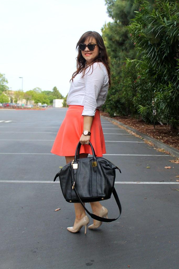 Skater Skirt + Patent