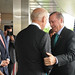 <p>U.S. Vice President Joe Biden, center left, greets Prime Minister of Turkey Recep Tayyip Erdogan, center right, during an armed forces flag cordon hosted by U.S. Secretary of State John Kerry at the Department of State in Washington, D.C., May 16, 2013. (DoD photo by Eboni Everson-Myart, U.S. Army/Released)</p>
