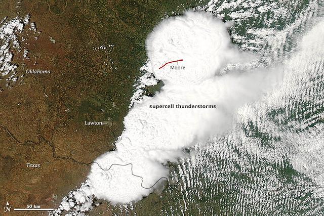 Severe Thunderstorms, Tornado Strike Oklahoma