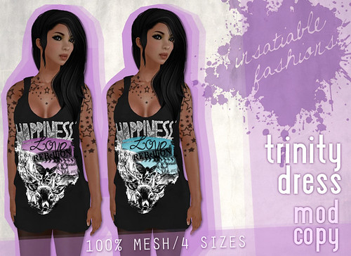 NEW @ [Insatiable Fashions]! Trinity Dresses!