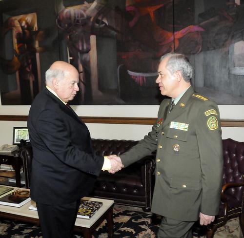 OAS Secretary General Receives AMERIPOL President