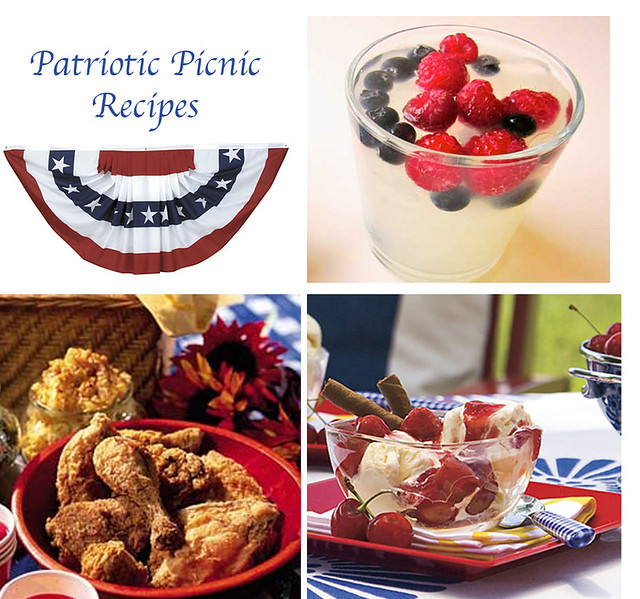 Patriotic Picnic Recipes