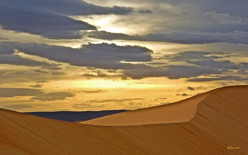 sunset sahara landscape desert dunes morocco sanddunes