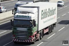 Scania R440 6x2 Tractor - PJ11 ZNT - Samantha Jayne - Eddie Stobart - M1 J10 Luton - Steven Gray - IMG_7573