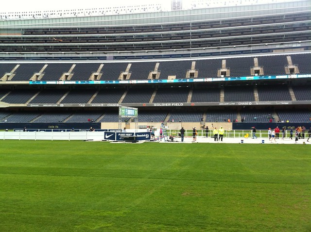 Erica Finishing the Soldier Field 10