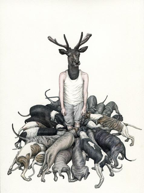 Fabien Merelle, John Acteon Deer, 2010