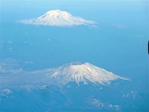 Mt. St. Helens & Mt. Adams