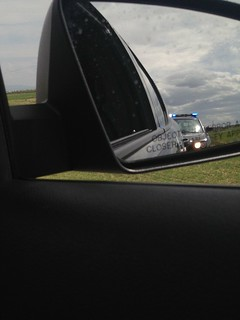 Then we were stopped for speeding in Idaho
