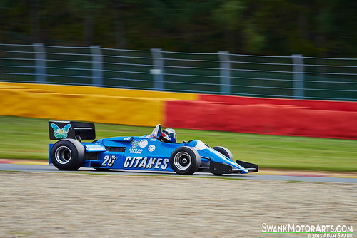 1983 Ligier JS21 by autoidiodyssey