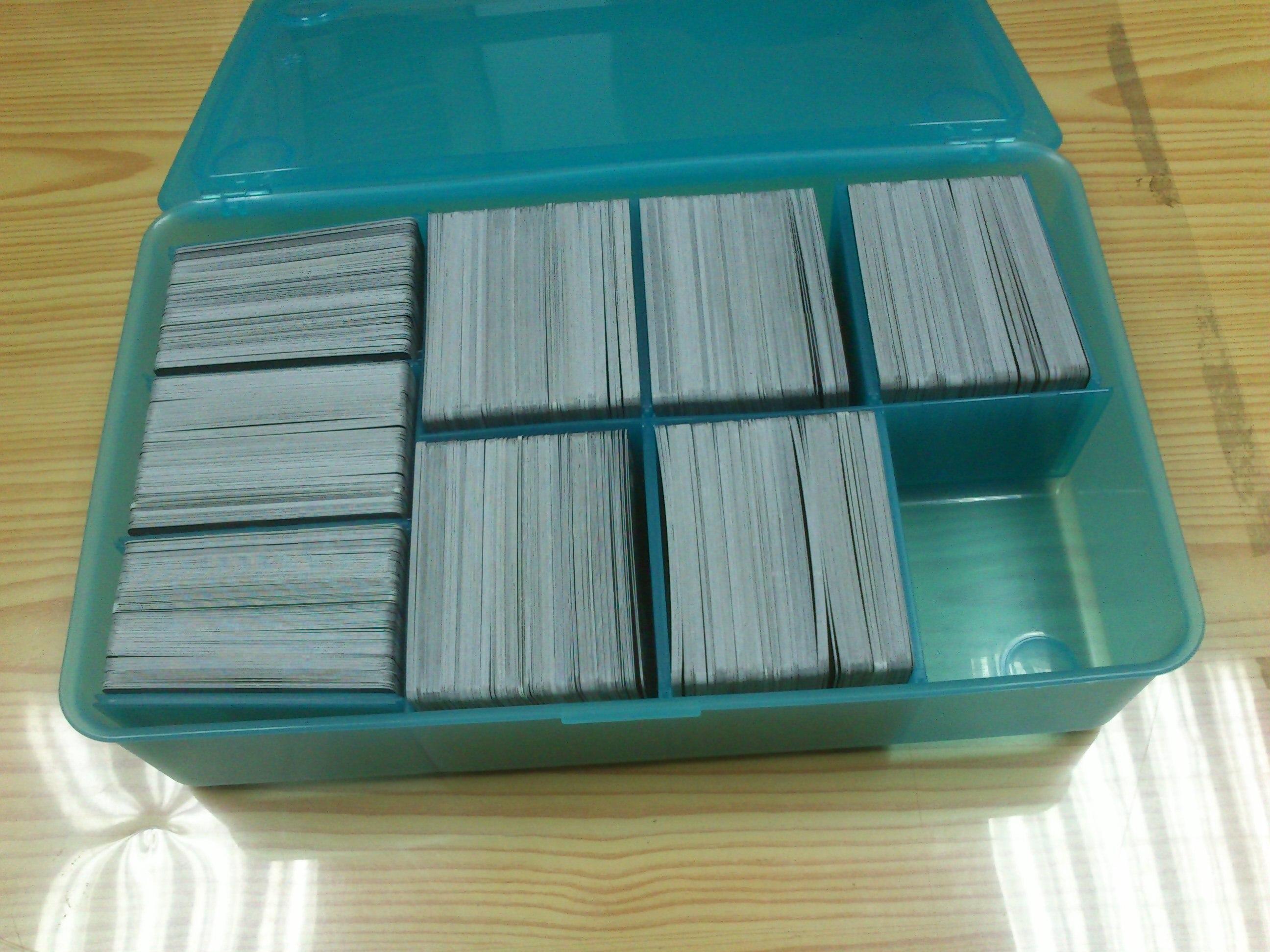 Qu Usais Para Almacenar Las Cartas Magic D Nde Encontrarlo  ~ Cajas Plastico Almacenaje Baratas