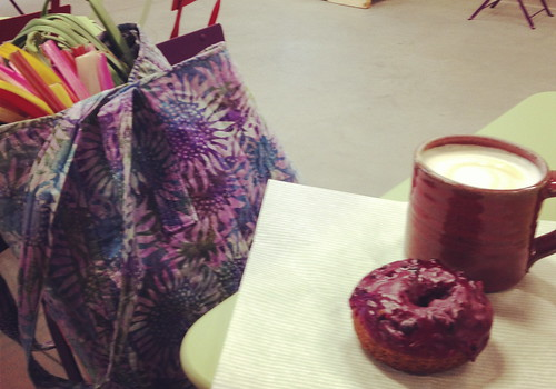 Farmer's Market/Coffee and a Donut
