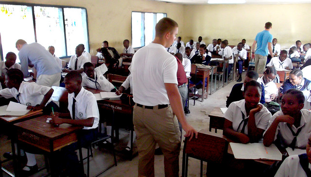 Teaching by Flickr CC US Army Africa