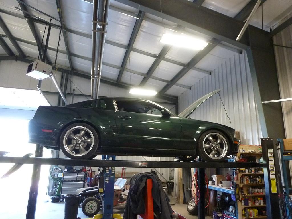 2008 ford mustang bullitt wicked garage inc for Garage ford hyeres 83