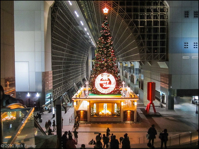 Xmas Decorations, Kyoto Station