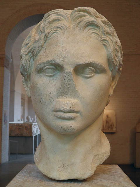 Alexander the Great, Schwarzenberg type. Copy after a statue by Lysippos, ca. 330 BC