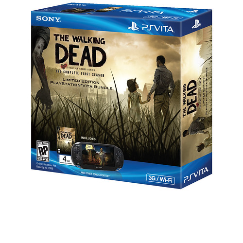 The Walking Dead PS Vita Bundle
