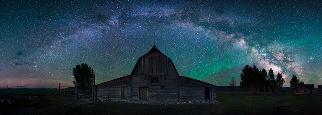 North Moulton Barn Milky Way