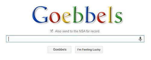 GOEBBELS SEARCH