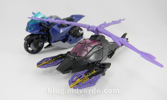 Transformers Airachnid - Prime RID - modo alterno vs Airachnid