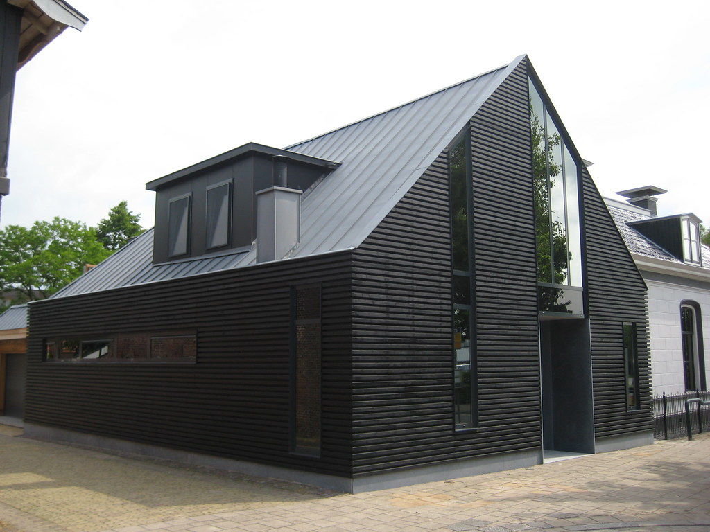 Exterior cladding and outdoor construction slp thermowood - Moderne houtbekleding ...