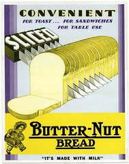 Sliced Butter-Nut Bread