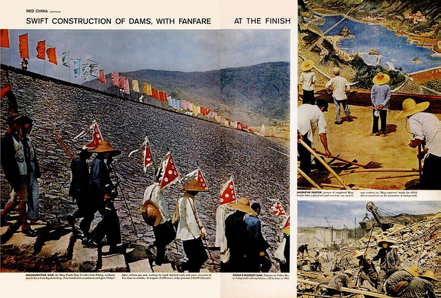 LIFE Magazine January 5, 1959 (4) - Red China: SWIFT CONSTRUCTION OF DAMS, WITH FANFARE AT THE FINISH