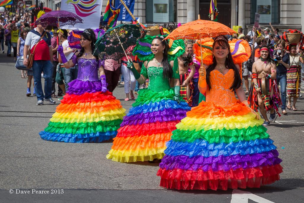 Gay Pride London 2013 - obľúbené mestá gayov