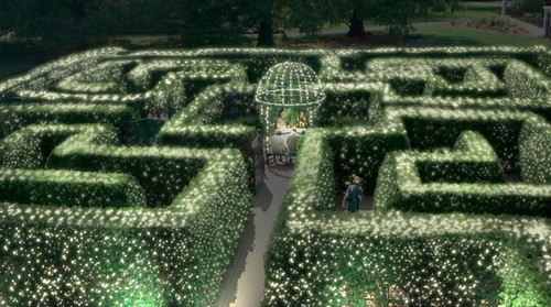Garden Glow Concept Art: Maze