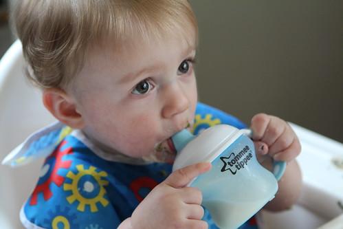 Martin's First Milk