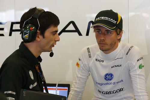 Charles Pic, 2013 Hungarian Grand Prix - Friday