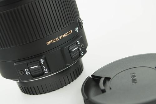 シグマ 18-250mm F3.5-6.3 DC MACRO OS HSM