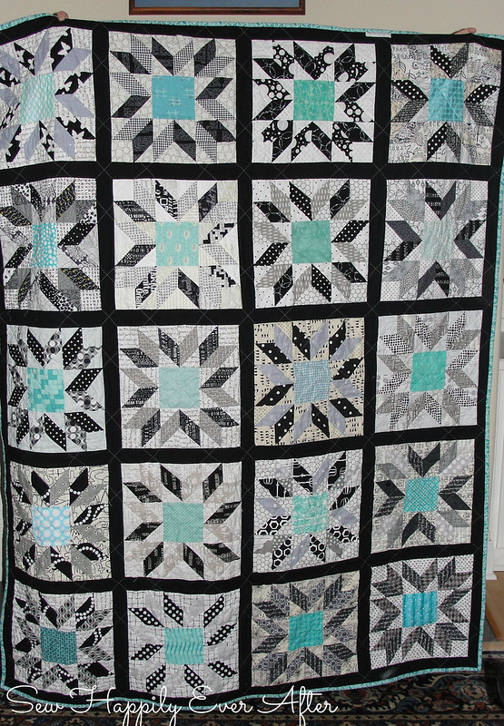 Due Light Quilt Front