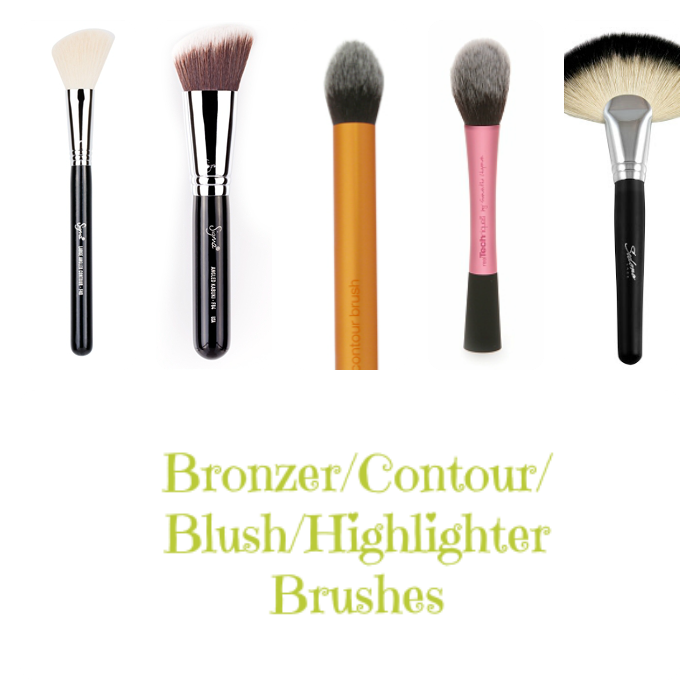 Different Face Brushes on southeastbymidwest.com