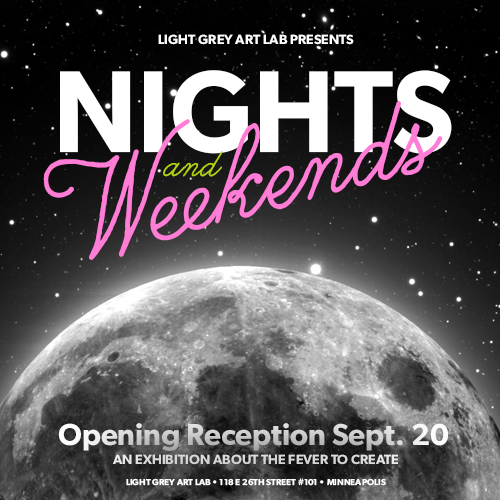 Nights & Weekends Exhibition Announcement