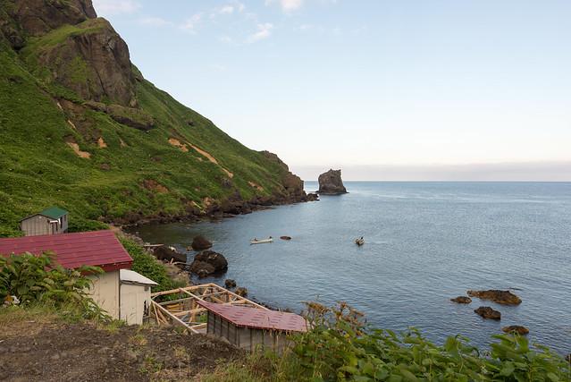 礼文島 桃岩荘からの景色