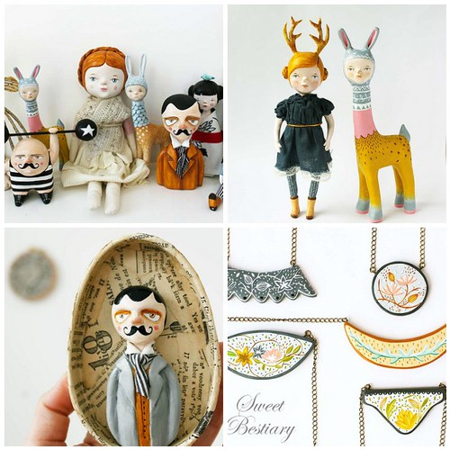 Friday Funspiration: featured artist Sweet Bestiary