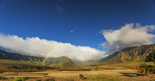 mountains hawaii rainbow oahu