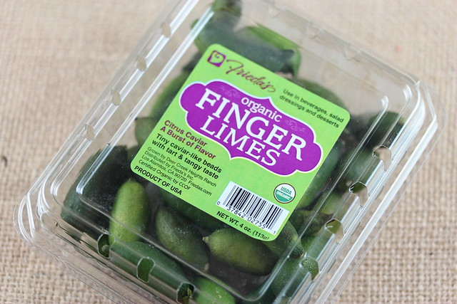 Finger Limes - Citrus Caviar - From Frieda's Produce