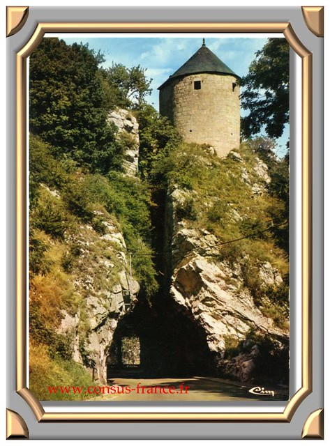 BESANÇON (Doubs) La porte Taillée -70-150