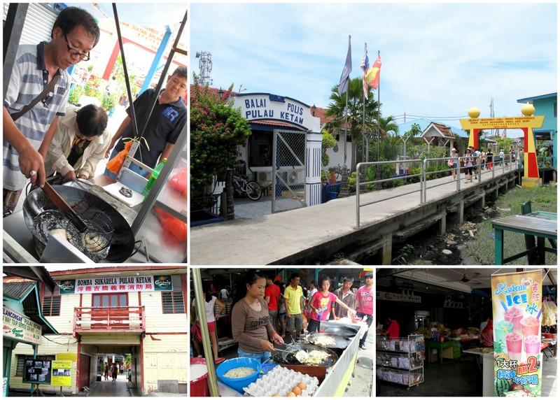 Pulau Ketam, Crab Island - sights